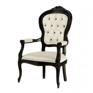 Deauville Louis XVI Bespoke Upholstered Armchair MS0115P Custom Made-To-Order