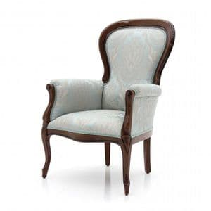 Divano Bespoke Upholstered French Armchair MS0217P Custom Made-To-Order