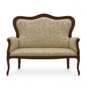 Divano French Two Seater Sofa MS0217D Made-To-Order