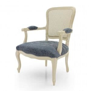 Duello Cane Back Bespoke Upholstered Armchair MS0465P Custom Made-To-Order