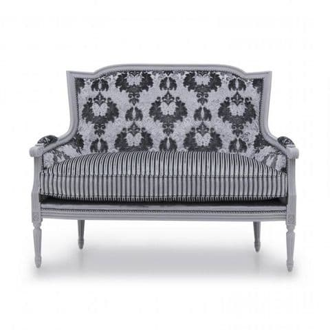 Eclettico Two Seater French Sofa MS9490D Made-To-Order