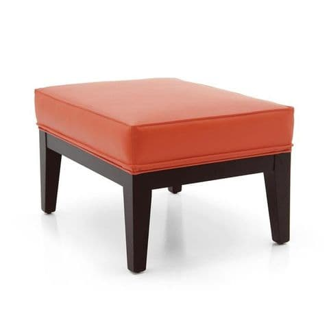 Elegante Bespoke Upholstered Ottoman Footstool MS0307O Custom Made-To-Order