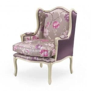 Elena Bespoke Upholstered Wingback Armchair MS9196P Custom Made-To-Order