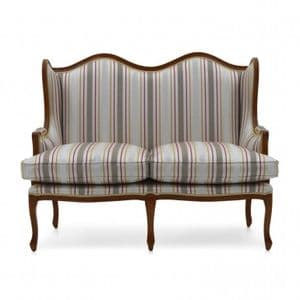 Elena Two Seater Wingback Sofa MS9196D Made-To-Order