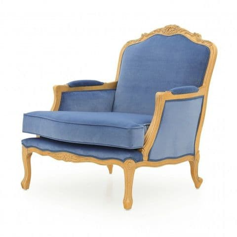 Fauteuil Bespoke Upholstered French Armchair MS9457P Custom Made-To-Order