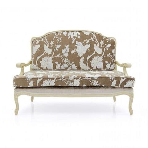 Grazia Two Seater French Sofa MS9302D Made-To-Order