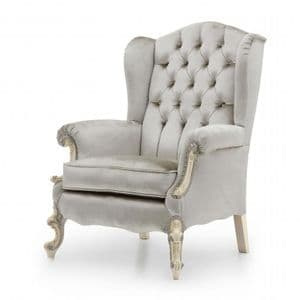 Haute Bespoke Upholstered High Back Wing Chair MS9502P Custom Made-To-Order