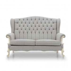 Haute High Back Wing Sofa MS9502D Made-To-Order