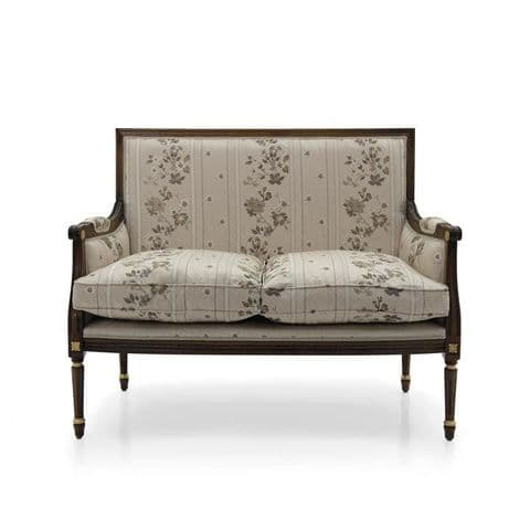 Louis-Auguste Square Back Two Seater Sofa MS9276D Made-To-Order