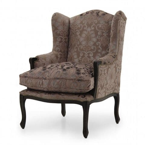 Ludovicus Bespoke Upholstered Wing Back Chair MS9396P Custom Made-To-Order