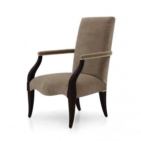 Neomea Bespoke Upholstered Contemporary Armchair MS0146P Custom Made-To-Order