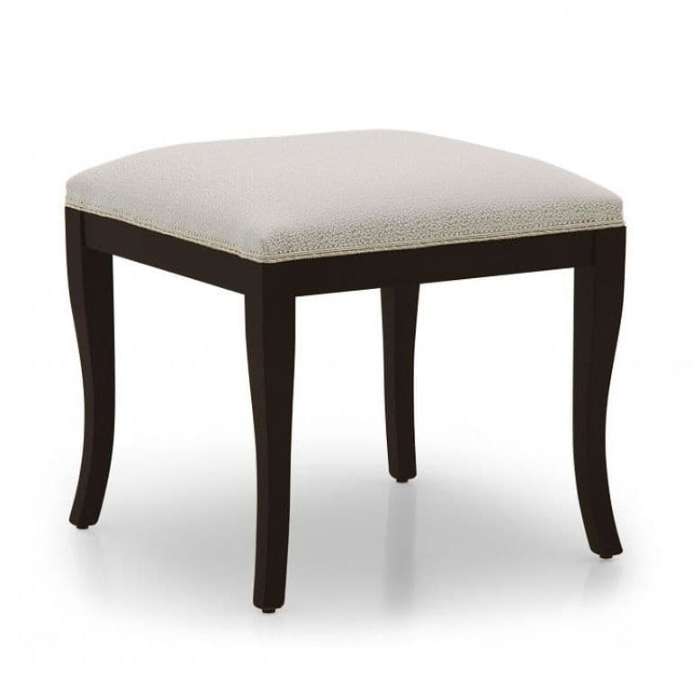 Noce Bespoke Upholstered Ottoman Stool MS0283O Custom Made-To-Order stools for bedrooms