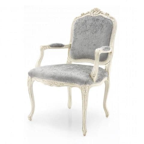 Palazzo Bespoke Upholstered French Armchair MS0295P Custom Made-To-Order