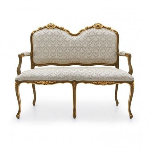 Palazzo French Two Seater Sofa MS0295D Made-To-Order
