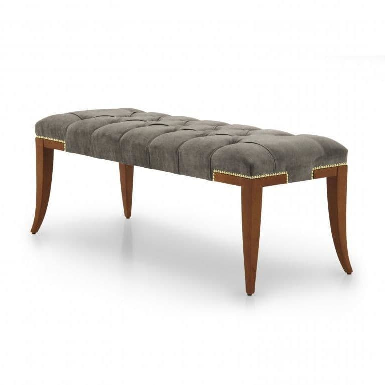 Panchina Modern Bespoke Upholstered Bench Seat Ms0189q Custom Made To Order Ottomans End Of Bed Benches