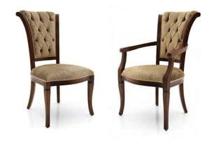 Piedmont Bespoke Upholstered Roll Top Dining Chairs MS0299 Custom Made-To-Order