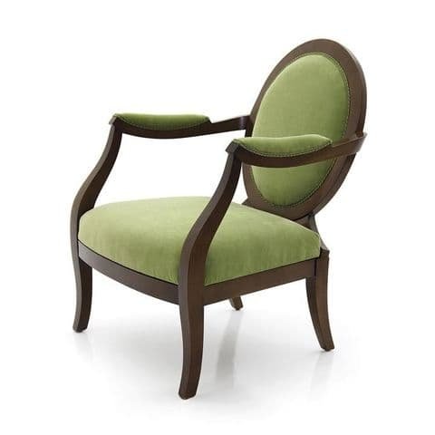 Principessa Bespoke Upholstered Armchair MS0308P Custom Made-To-Order