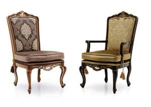 Rococo Bespoke Upholstered Dining Chairs MS9486 Custom Made-To-Order