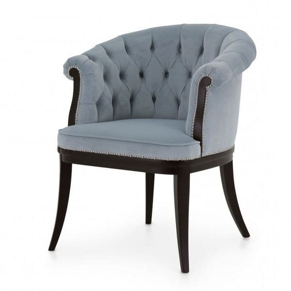 Rolando Bespoke Upholstered Deep Buttoned Back Tub Chair MS09732P Custom Made-To-Order