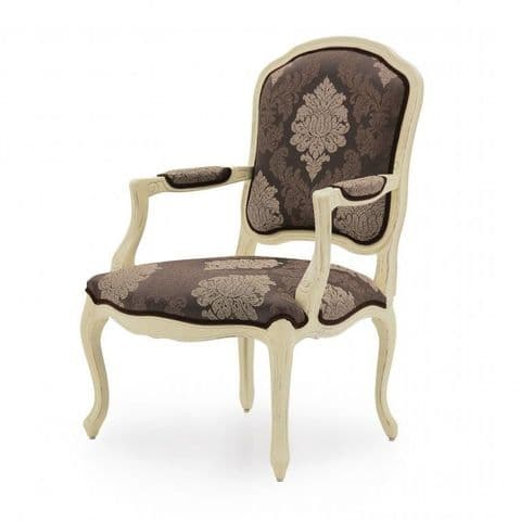 Salotto Bespoke Upholstered French Armchair MS0239P Custom Made-To-Order