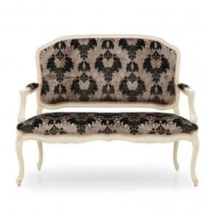 Salotto Two Seater Parlor Sofa MS0239D Made-To-Order