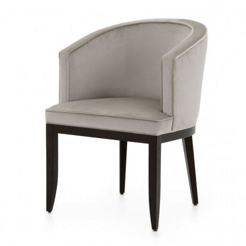 Semicircolare Bespoke Upholstered Italian Tub Chair MS9729P Custom Made-To-Order