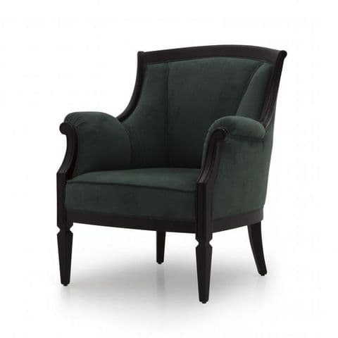 Signore Bespoke Upholstered Italian Club Chair MS9193P Custom Made-To-Order