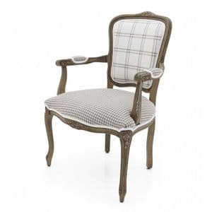 Soubise Bespoke Upholstered Louis XV French Armchair MS0243P Custom Made-To-Order