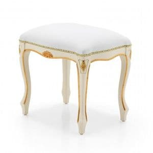Soubise French Louis Bespoke Upholstered Vanity Stool MS0208O Custom Made-To-Order