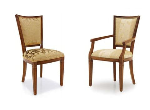 Trapezio Bespoke Upholstered Italian Dining Chairs MS0330 Custom Made-To-Order