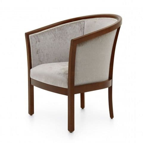 Vasca Bespoke Upholstered Tub Chair MS0160P Custom Made-To-Order