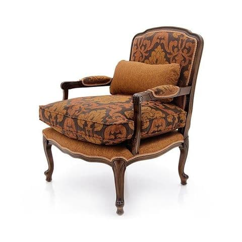 Vestiaire Bespoke Upholstered French Fauteuil Armchair MS9708P Custom Made-To-Order