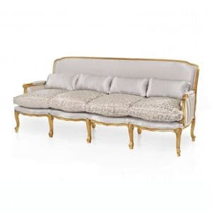 Vestiaire French Four Seater Sofa MS9788F Made-To-Order