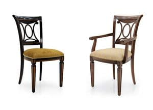 Vittoriano Bespoke Upholstered Dining Chairs MS0166 Custom Made-To-Order