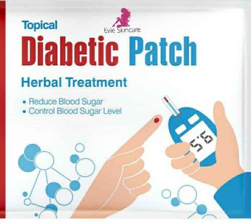 Diabetic patch Herbal Treatment  Patch 30 * 5 Bags