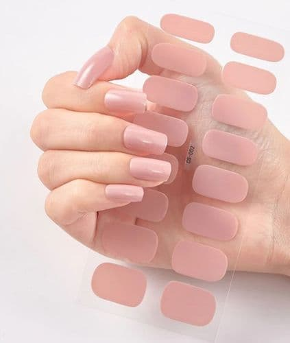 Nail Strips Nude Pink