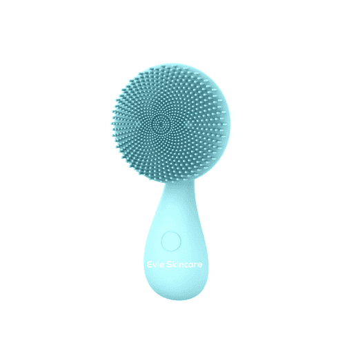 Rechargeable Facial Cleansing Brush / Exfoliator Green