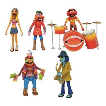 Diamond Select SDCC 2020 Exclusive The Muppets Electric Mayhem Band Set - Pre-order