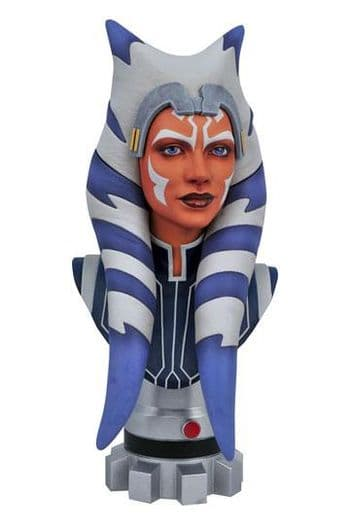 Gentle Giant Star Wars The Clone Wars Legends in 3D Bust 1/2 Ahsoka Tano - Pre-Order