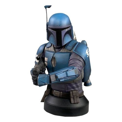 Gentle Giant Star Wars The Mandalorian Bust 1/6 Scale Death Watch Previews Exclusive 7