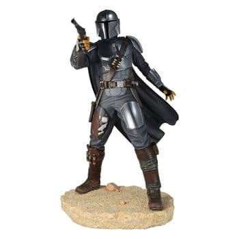 "Gentle Giant Star Wars The Mandalorian Premier Collection 1/7 The Mandalorian MK 3  10"" Statue"