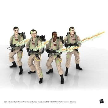 Ghostbusters Plasma Series Glow-in-the-Dark Full Set of 4 1984 Classic Ghostbusters6 Inch Figures