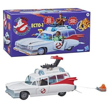 Ghostbusters - The Real Ghostbusters Animated Kenner Classics Ecto-1 Vehicle - Pre-Order