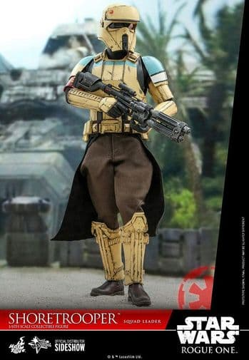 Hot Toys Star Wars Rogue One 1/6 Scale Shoretrooper Squad Leader Action Figure - Pre-Order