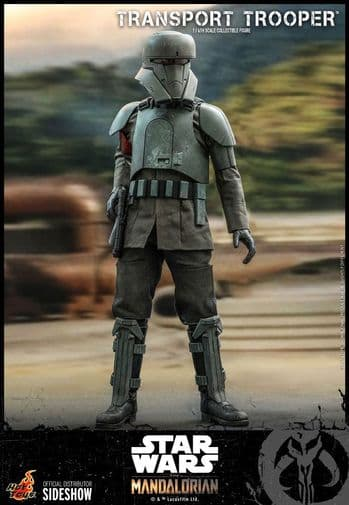 Hot Toys Star Wars The Mandalorian 1/6 Scale Transport Trooper Action Figure - Pre-Order