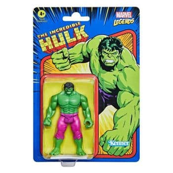 """Marvel Legends retro Collection 3.75"""" Incredible Hulk Action Figure - INSTOCK"""