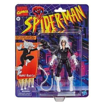 Marvel Legends Series 6-inch Collectible Marvel's Black Cat Action Figure Vintage Collection