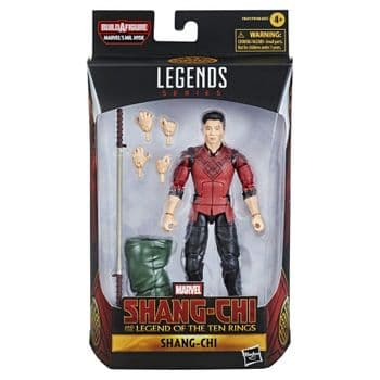 Marvel Legends Series Shang-Chi And The Legend Of The Ten Rings Shang-Chi Figure NO BAF PART