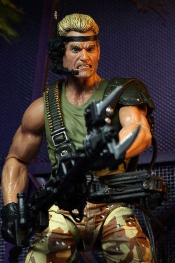 NECA Aliens Space Marine Drake Kenner Tribute Action Figure