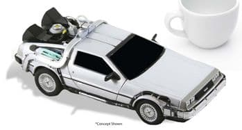 "NECA Cinemachines Back to the Future Delorean 6"" Diecast Vehicle - Instock"